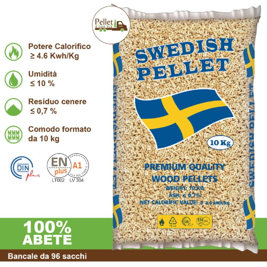 Swedish Pellet da 1 a 96 sacchi da 10 kg