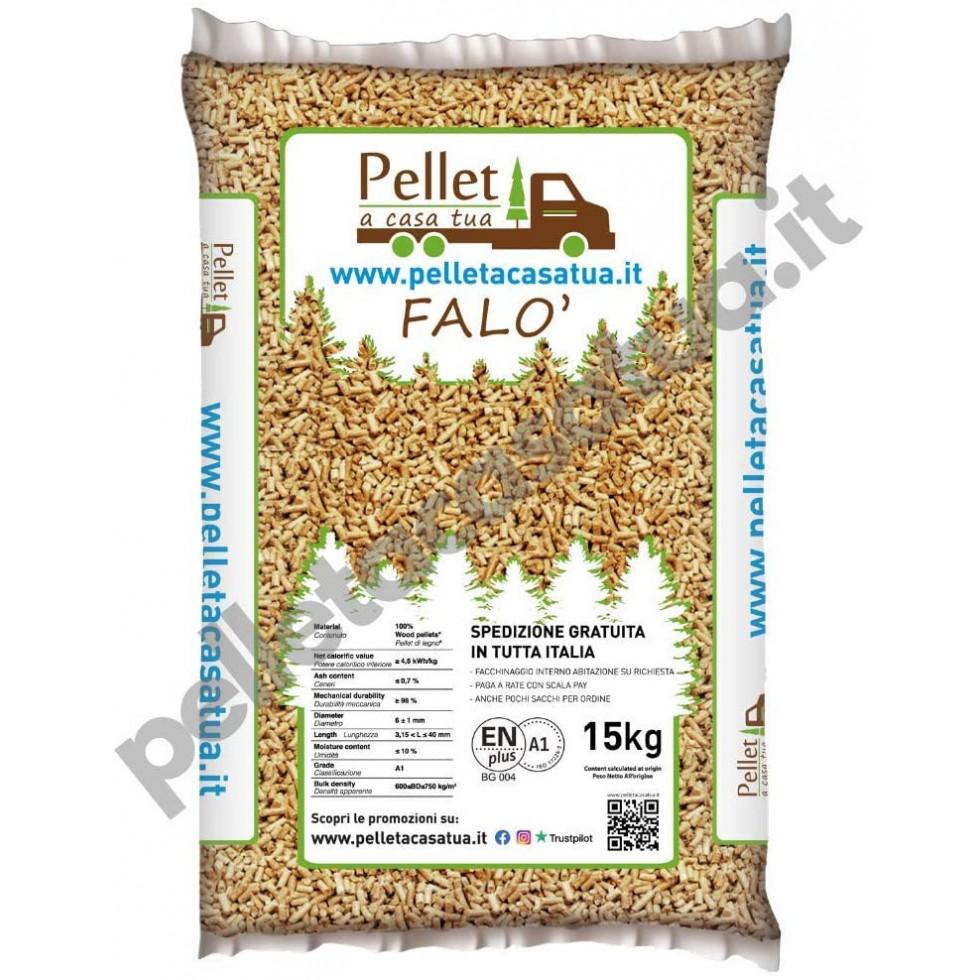 Pellet Falo' - 40 sacchi da 15 KG